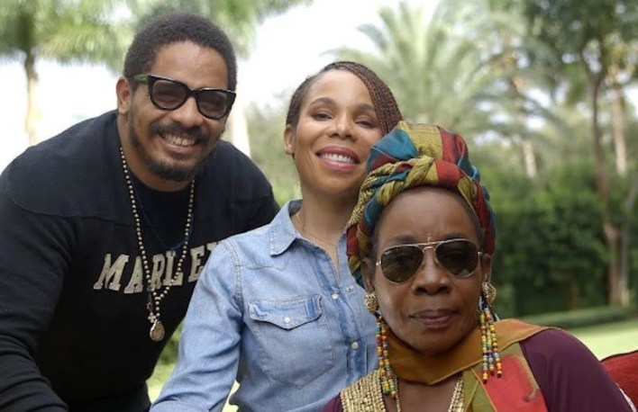 Bob Marley's Daughter Demisses Reports saying their Mother Rita Marley Is Dead 2