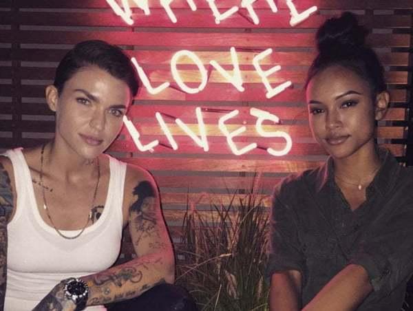 Karrueche Tran Says No She Is Not Dating Ruby Rose
