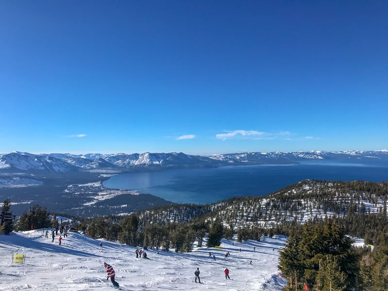 skiing heavenly lake tahoe