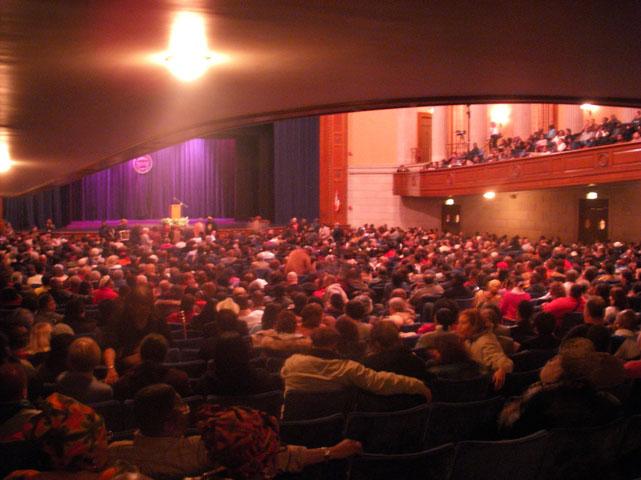Dr. Cornel West at Stambaugh Auditorium