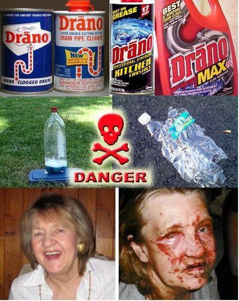 Are Kids Putting Draino In Bottles To Make Bombs