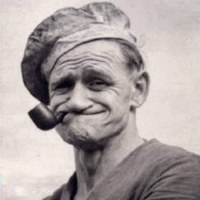"Popeye the Sailor Man was Really Frank ""Rocky"" Fiegel from Chester, Illinois"