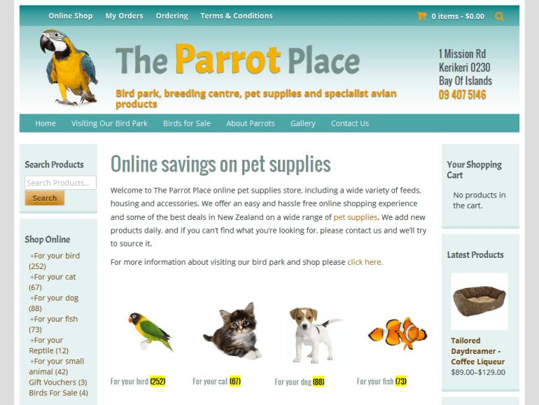 The Parrot Place Kerikeri