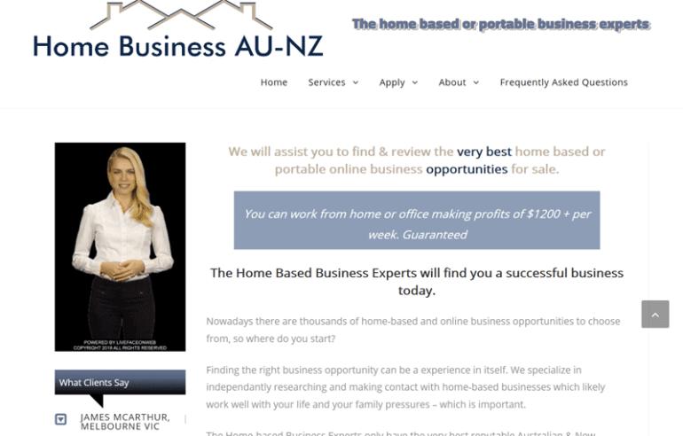 Home Business Australia New Zealand