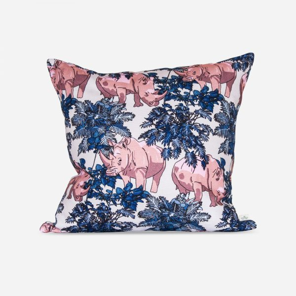 Rhino cushion handmade