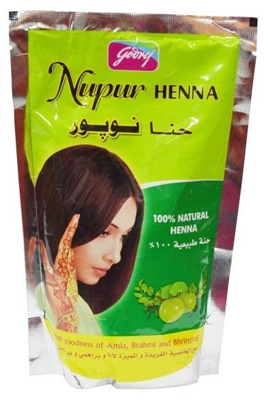 e7bd8ab8d Godrej Nupur 100% Pure Henna (w/ 9 herbs) – 200 grams – UrbanMakes