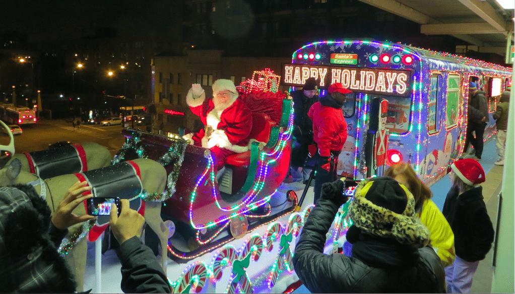 cta holiday train - Cta Christmas Train 2014