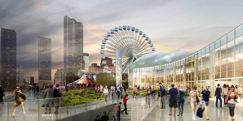 Navy Pier Ferris Wheel Opening