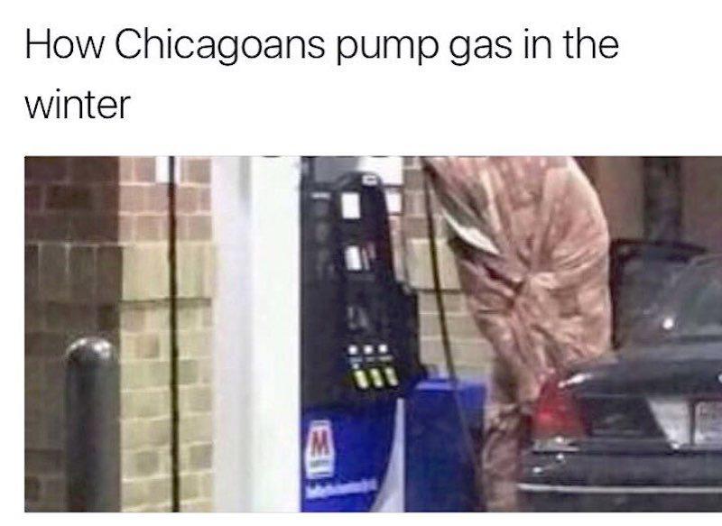 chicago winter memes