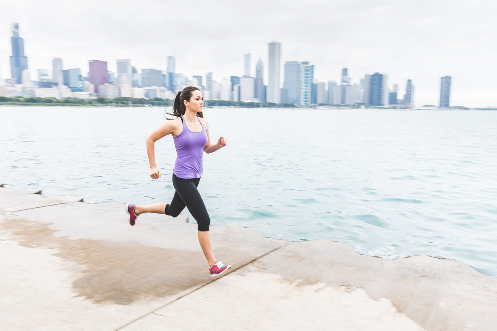 Chicago running paths to run through on