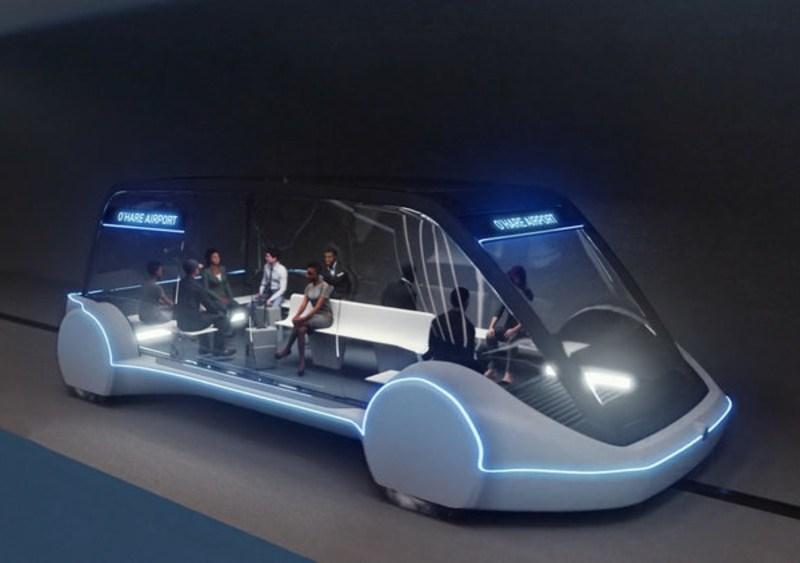 Elon Musk's The Boring Company High Speed Transportation Chicago