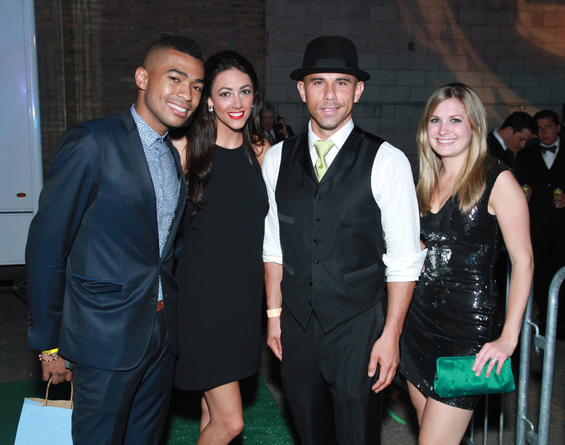 Green Tie Ball Chicago Dresses