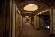 Inside Detroit's Movie Palace recently turned into Parking Garage