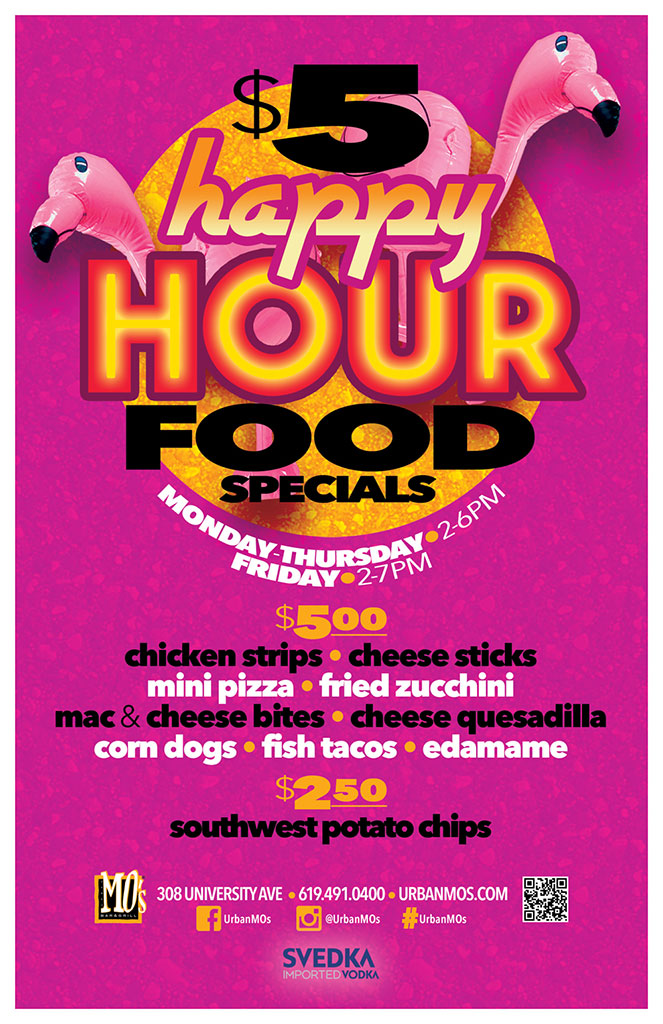 $5 Happy Hour