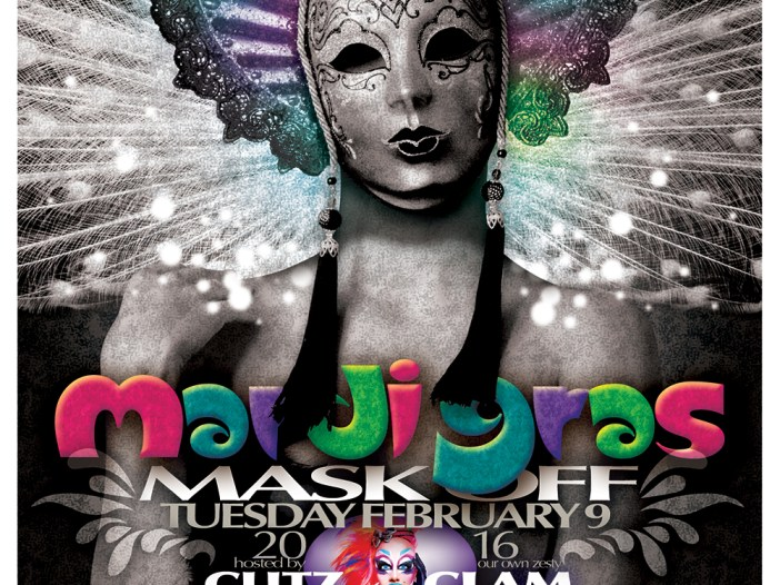 Mardi Gras Mask Off at Urban MO's