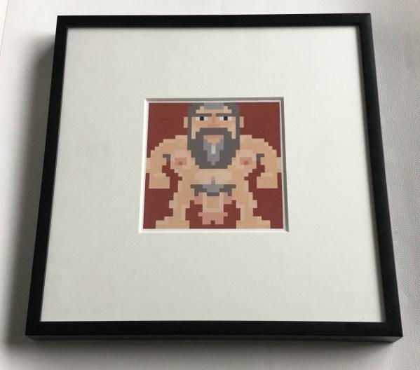 Nekkid Pixel Bear 3