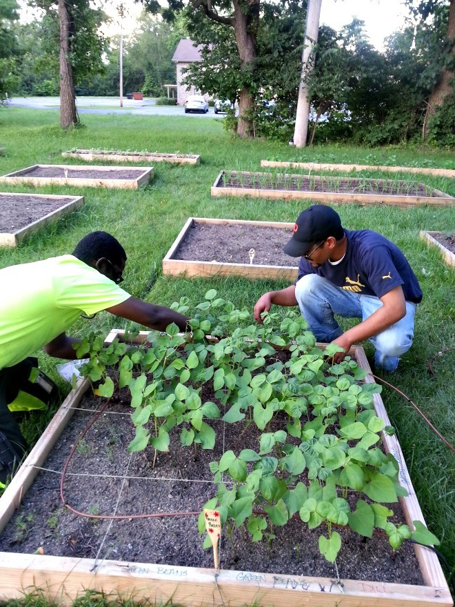 Doing Good: A Seed Grows in Columbus - An Organic, Urban Garden Feeds a Community's Growth
