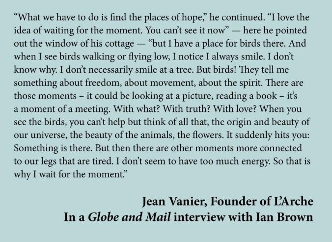 Jean Vanier quote