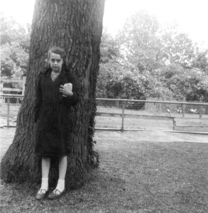 Photographer, June Hunter, aged nine.