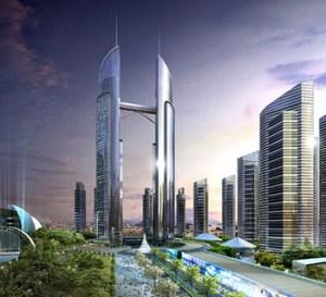 or the planned Yongsan Landmark building