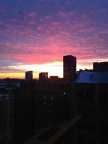 South loop at sunset
