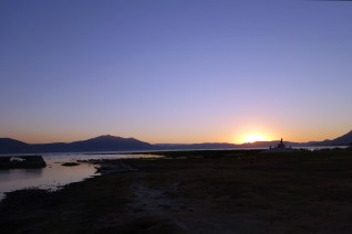 Chapala at sunset
