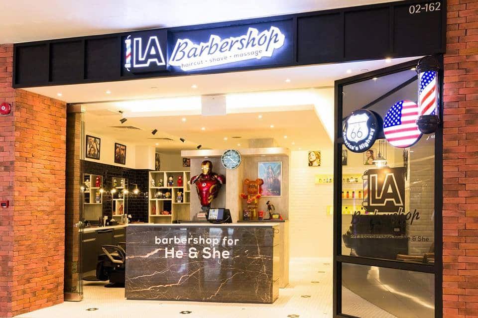 LA Barbershop Singapore