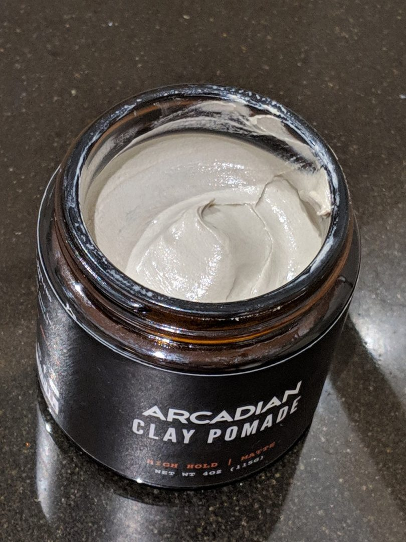 Arcadian Clay Pomade Texture Texture