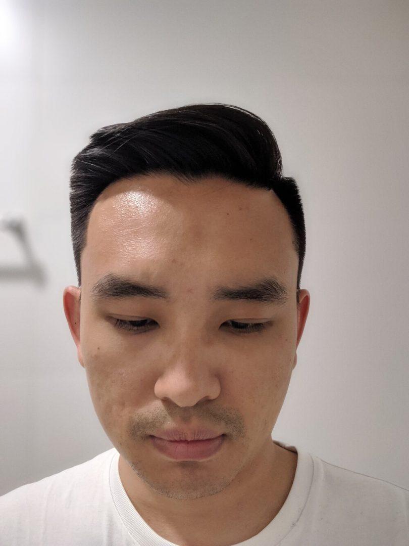 LA Barbershop Hair Cut Review - Front View