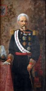 Portrait of General Don Julián García Reboredo