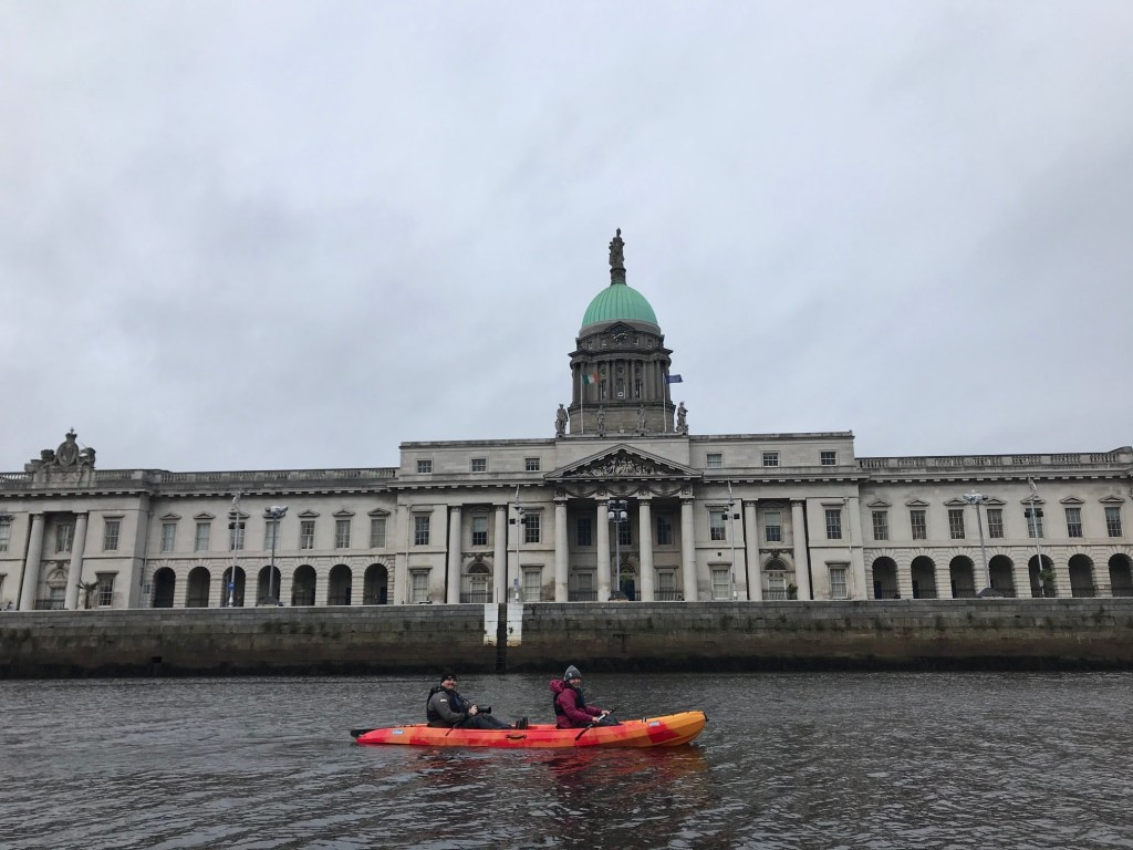 The Custom House, as seen from the River Liffey