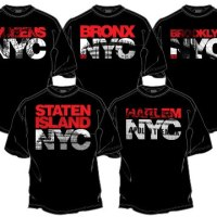 2520 Clothing Presents 'The NYC Collection' - 5 Boro T-Shirt Range