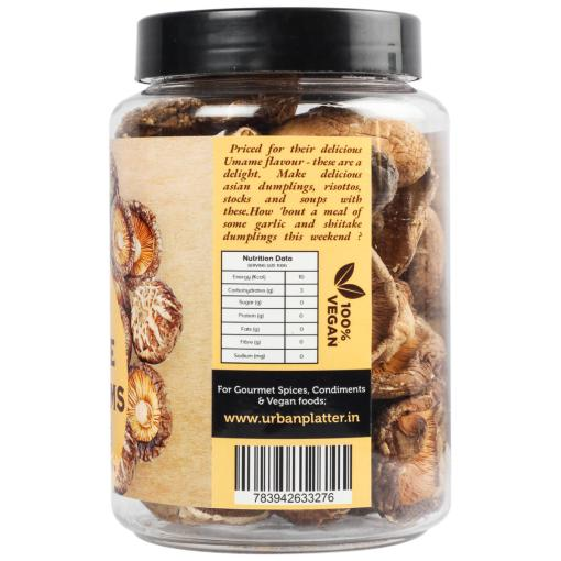 Urban Platter Dried Shiitake Mushrooms, 100g