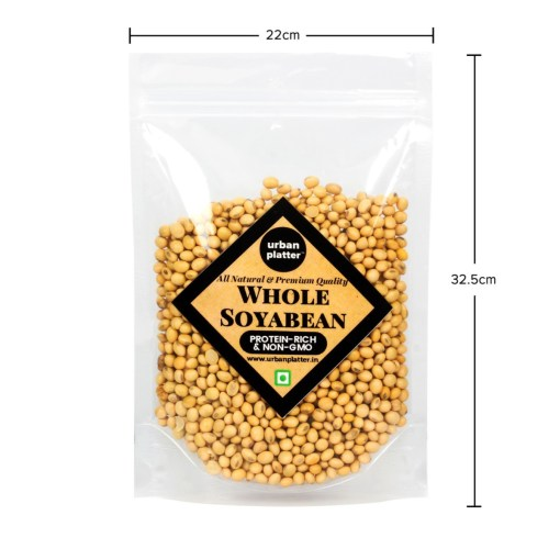 Urban Platter Soybeans (Soya Bean), 1Kg / 35.2oz [All Natural, Premium Quality, High Protein]