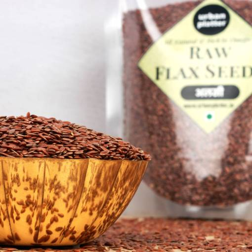 Urban Platter Flax Seeds, 750g [Raw, Rich in Omega-3, Heart-healthy]