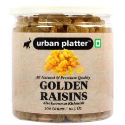Urban Platter Golden Raisins (Kishmish), 300g