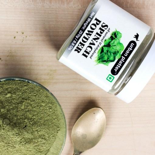 Urban Platter Dehydrated Spinach Powder, 250g