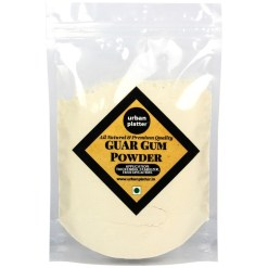 Urban Platter Guar Gum Powder, 1Kg (All Natural, Thickening Agent, Binding Agent for Baking)