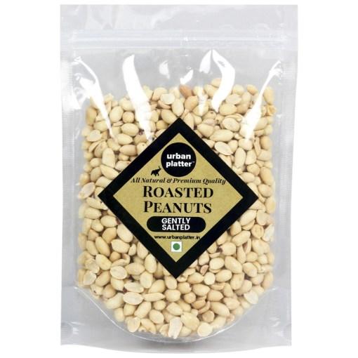 Urban Platter Roasted Salted Peanuts, 1Kg [Grade A Peanuts, Skin Removed]