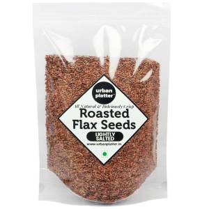Urban Platter Roasted Salted Flax Seeds, 900g