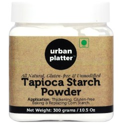 Urban Platter Tapioca Starch Powder, 300g [All Natural, Gluten-free & Unmodified]