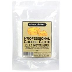 Urban Platter Premium Professional Cheese Making Cloth, 1 Pc [1 Mtr X 1 Mtr, 100% Cotton]