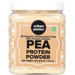 Urban Platter Pure Pea Protein Powder, 500g Jar[Vegan, Gluten-free, Unflavoured]