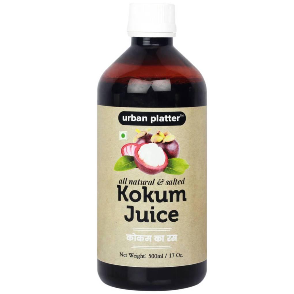 Urban Platter Kokum Juice (Agal), 500ml [All-natural, Flavourful & Salty]