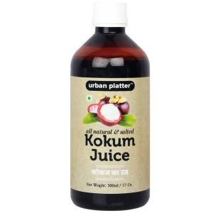 Urban Platter Kokum Juice (Agal), 500ml [All-natural, Flavourful & Salty]