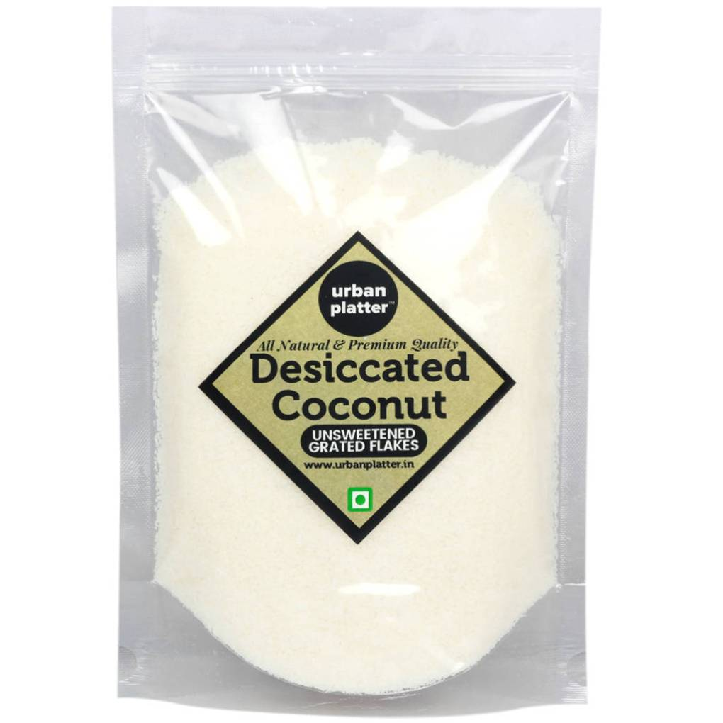 Urban Platter Desiccated Coconut (Unsweetened), 900g