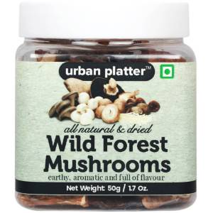 Urban Platter Wild Forest Mushrooms, 50g [All Natural, Dried, Full Of Flavour]