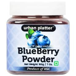 Urban Platter Blueberry Powder, 100g [All Natural & Super Anti-oxidant]