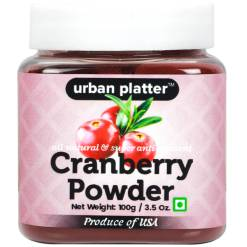 Urban Platter Cranberry Powder, 100g [Rich in Vitamin C & Nutrient-Dense]