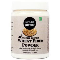 Urban Platter Wheat Fiber Powder, 100g [All Natural & Gluten-Free]